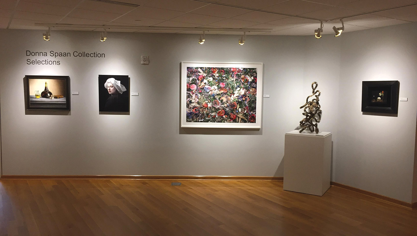 Selections from the Donna Spaan Collection in the Center Art Gallery.