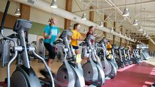 Work out or take a spin in the Morren Fitness Center.
