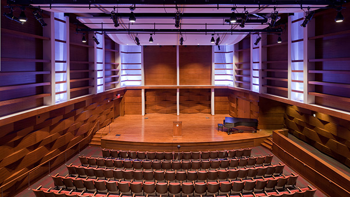 Covenant Fine Arts Center Recital Hall