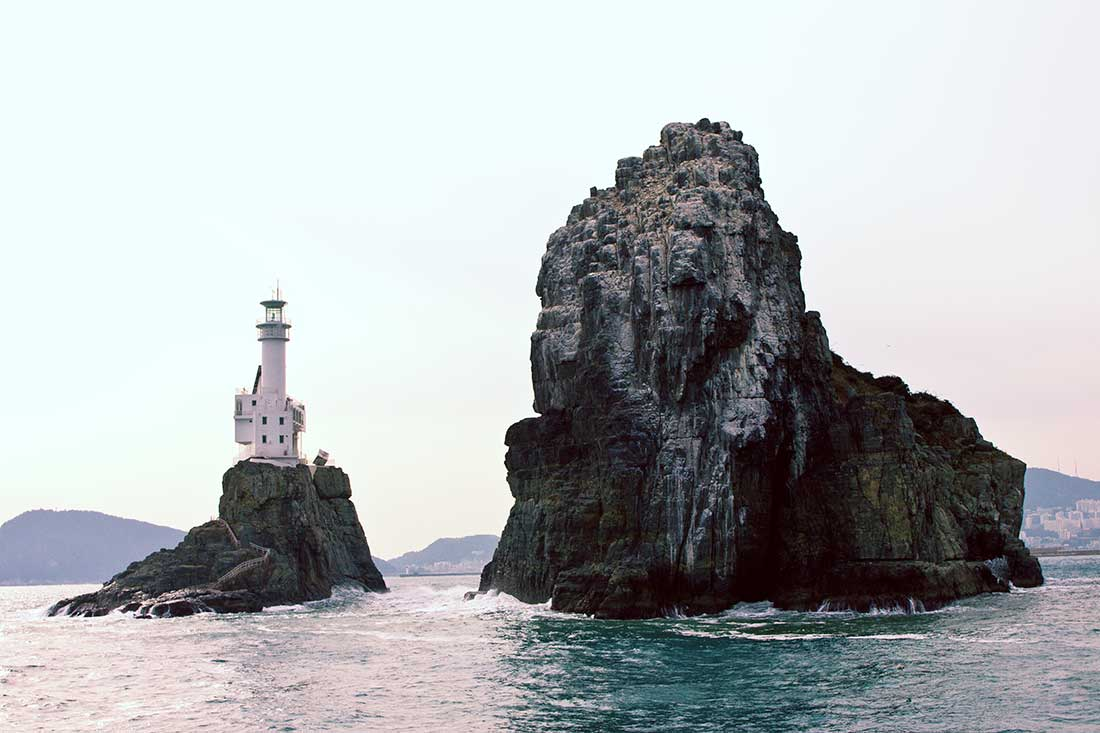 Balance - lighthouse and two islands